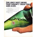 """1966 Canada Dry Ad """"The Only Soft Drink"""""""