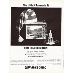 "1966 Panasonic Ad ""Goes To Sleep By Itself"""