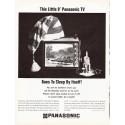"""1966 Panasonic Ad """"Goes To Sleep By Itself"""""""