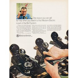 "1966 Western Electric Ad ""One reason"""