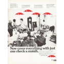 """1966 Travelers Insurance Ad """"cover everything"""""""
