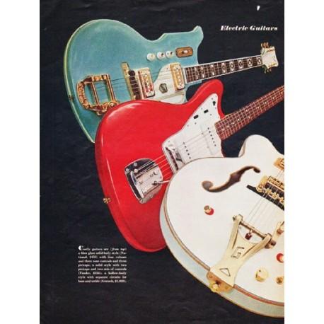 "1966 Electric Guitars Article ""It's Money Music"""