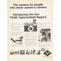"""1966 Agfa-Gevaert Ad """"people who never owned a camera"""""""