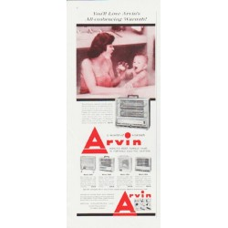 "1959 Arvin Heater Ad ""All-embracing Warmth"""