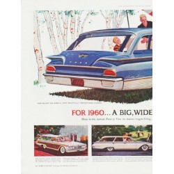 "1960 Ford Ad ""Wonderful World of Wagons"" ... (model year 1960)"