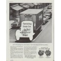 "1961 General Motors Ad ""Look at the savings this Diesel makes"""