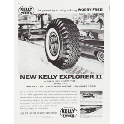 "1959 Kelly Tires Ad ""Worry-Free"""