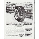 """1959 Kelly Tires Ad """"Worry-Free"""""""