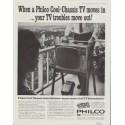 "1961 Philco Television Ad ""Philco Cool-Chassis TV"""