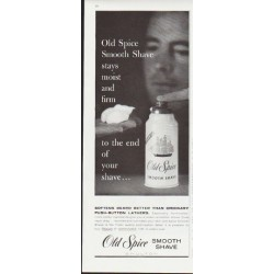 "1959 Old Spice Ad ""stays moist"""