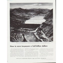 "1959 Electric Light and Power Companies Ad ""a half-billion dollars"""