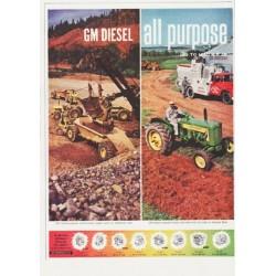"""1959 GM Diesel Ad """"Jimmy Diesel"""""""