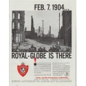 "1961 Royal-Globe Insurance Companies Ad ""FEB. 7, 1904 ... Royal-Globe"""