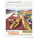 "1959 Timken Ad ""Which road costs less"""