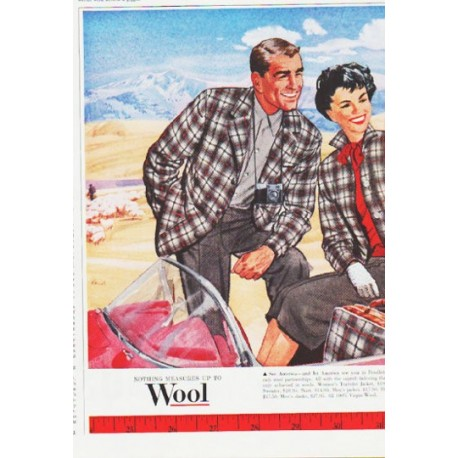 "1959 Pendleton Sportswear Ad ""a way of life"""