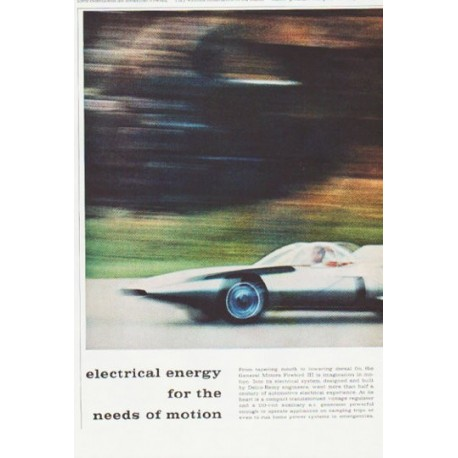 """1959 Delco-Remy Ad """"needs of motion"""""""