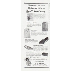 "1959 L. L. Bean Ad ""out of the ordinary"""