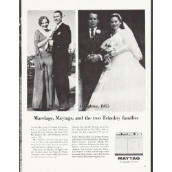 "1964 Maytag Ad ""two Trizulny families"""