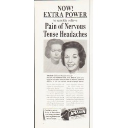 """1964 Anacin Ad """"Extra Power"""""""