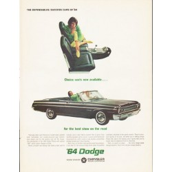 "1964 Dodge Ad ""Dodge Polara"" ... (model year 1964)"