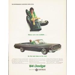 "1964 Dodge Ad ""Dodge Polara"" ... (model year 1964)"