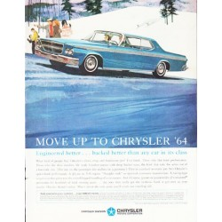 "1964 Chrysler Ad ""Move Up"" ... (model year 1964)"