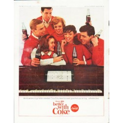 "1964 Coca-Cola Ad ""Words and music"""