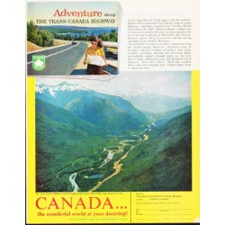 "1963 Canada Tourism Ad ""Adventure"""