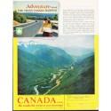 """1963 Canada Tourism Ad """"Adventure"""""""