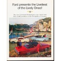 "1963 Ford Ad ""Liveliest of the Lively Ones"" ... (model year 1963 1/2)"