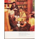 "1963 Pan-American Coffee Bureau Ad ""The world"""