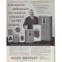 "1961 Allen-Bradley Ad ""The New Bulletin 709"""
