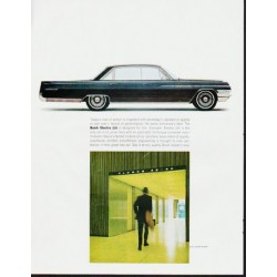 "1963 Buick Electra Ad ""Today's man of action"" ... (model year 1963)"