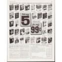"1963 Doubleday Dollar Book Club Ad ""Take any 5"""