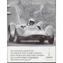 "1963 Champion Spark Plug Ad ""Roger Penske"""