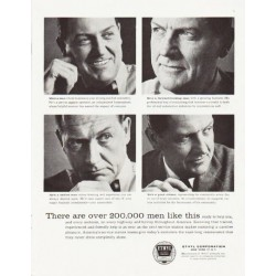 "1957 Ethyl Corporation Ad ""over 200,000 men"""