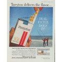 "1961 Tareyton Ad ""Tareyton delivers the flavor ..."""