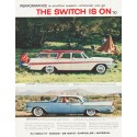 "1957 Chrysler Ad ""The Switch Is On"" ... (model year 1957)"