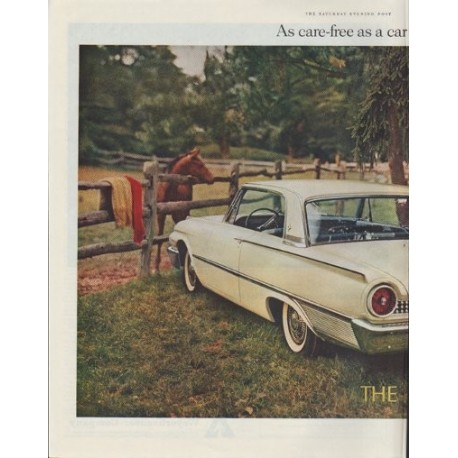 "1961 Ford Ad ""Galaxie Club Victoria"""