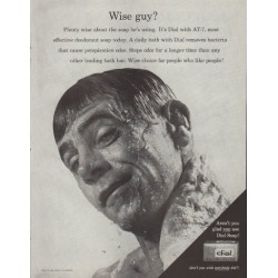"1961 Dial Soap Ad ""Wise guy?"""