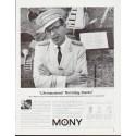 "1964 Mutual Of New York Ad ""Life insurance?"""