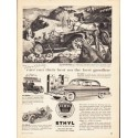 """1953 Ethyl Corporation Ad """"Today as Yesterday"""""""
