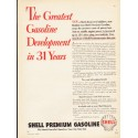"1953 Shell Gasoline Ad ""The Greatest Gasoline"""