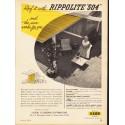 "1953 Rippolite Ad ""Rippolite ""504"""""