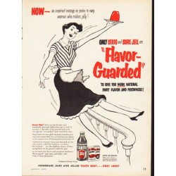 "1953 General Foods Ad ""Flavor-Guarded"""