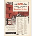 """1953 Olympic Stain Ad """"Redwood and Red Cedar"""""""