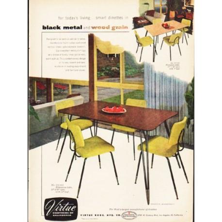 """1953 Virtue Brothers Ad """"black metal"""""""