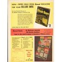 "1953 Sunset Magazine Ad ""Tested Ideas"""