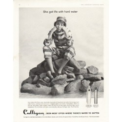 "1961 Culligan Ad ""life with hard water"""
