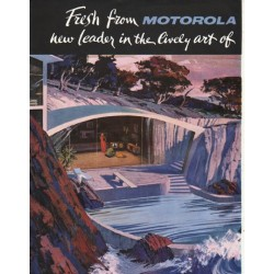 "1961 Motorola Television Ad ""Fresh from Motorola"""